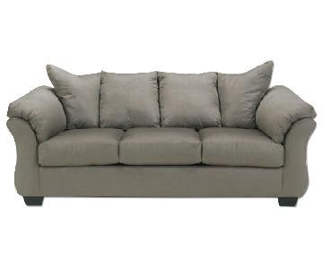 Ashley's Darcy Sofa in Cobblestone