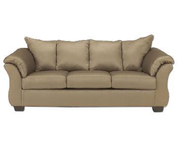 Ashley's Darcy Sofa in Mocha