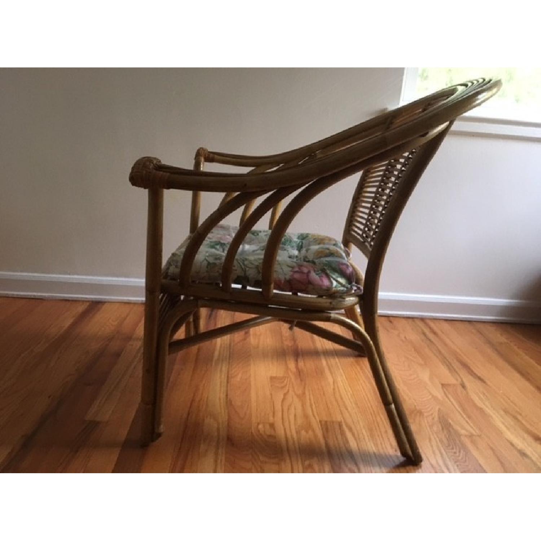 Wicker & Cushion Chair