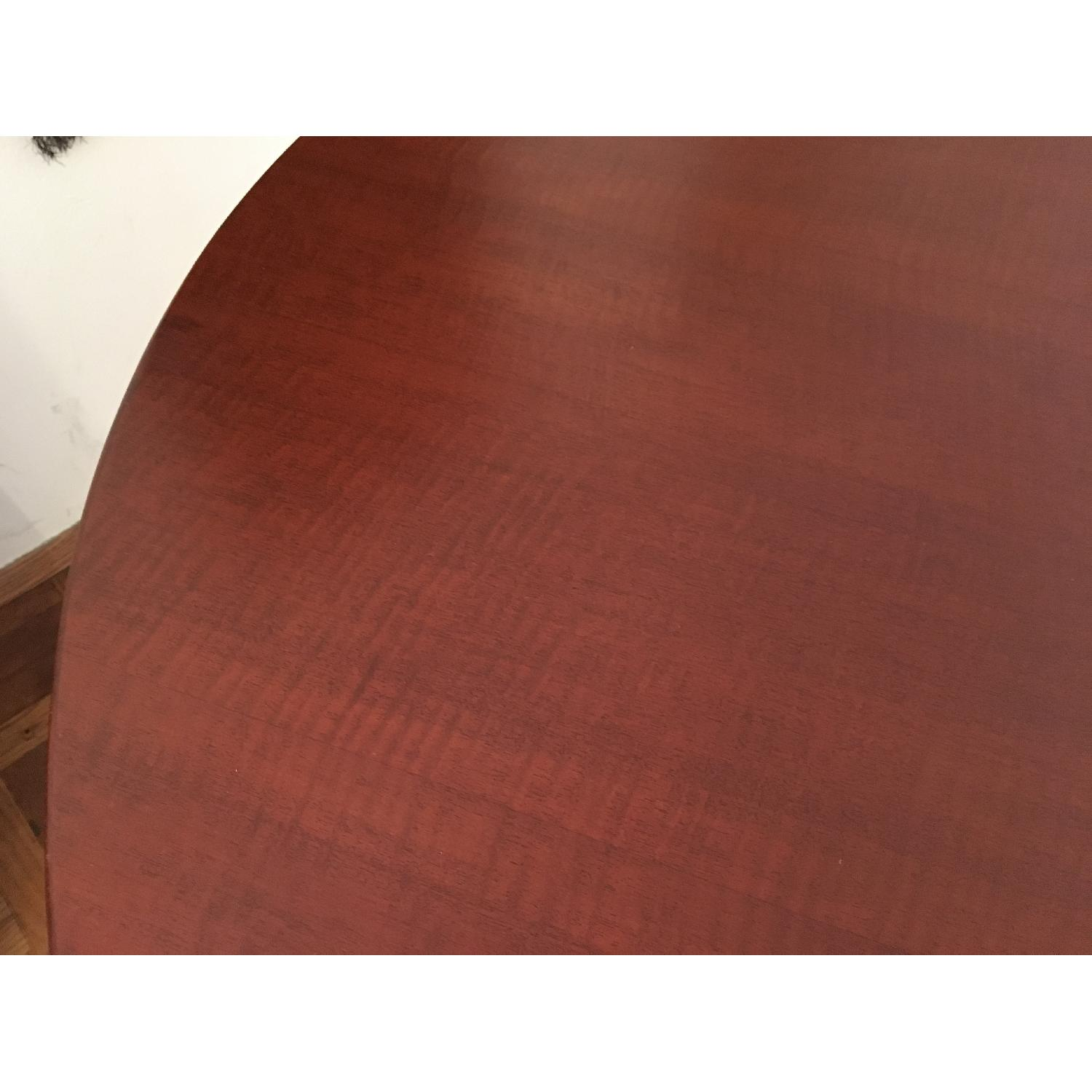 Dialogica Curl Oval Mahogany Dining Table - image-5