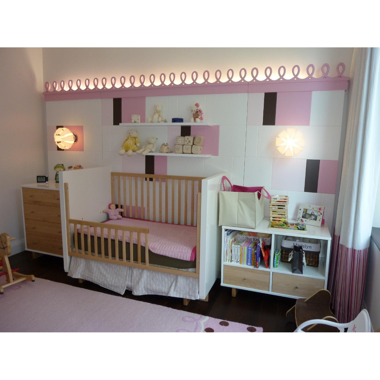 Room & Board Moda Crib & Toddler Bed Conversion Rail - image-2