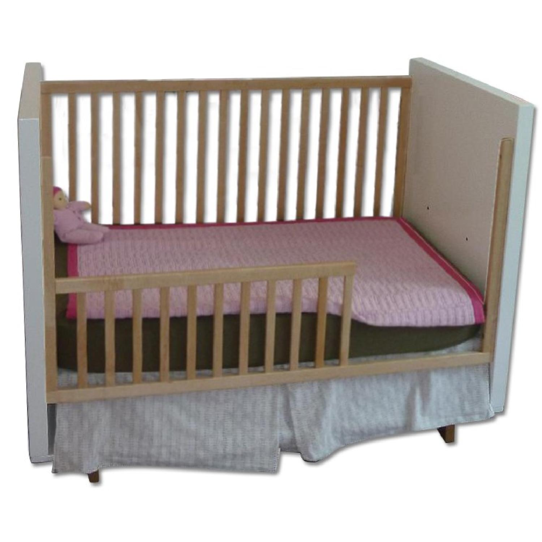 Room & Board Moda Crib & Toddler Bed Conversion Rail - image-0