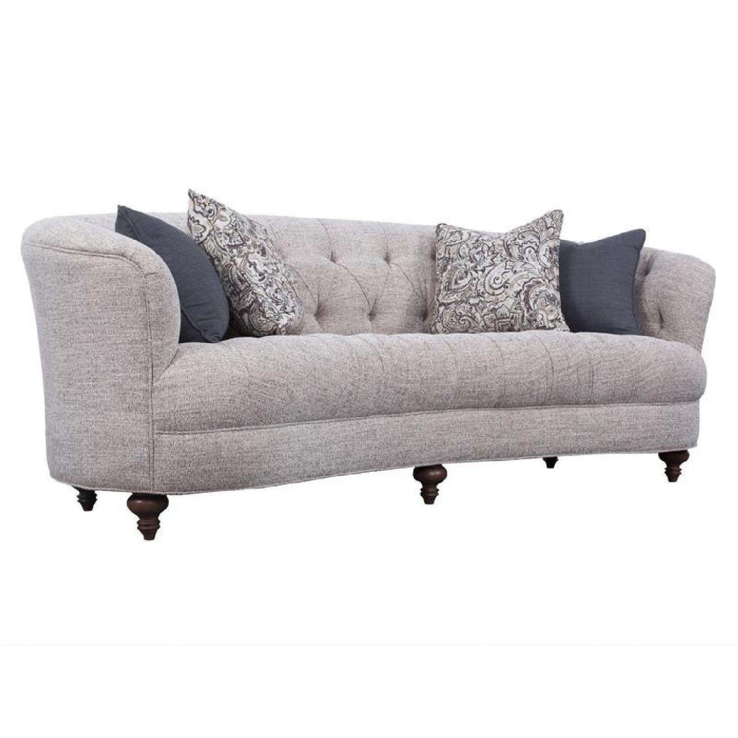 Magnussen Home Furnishings Rounded Sofa
