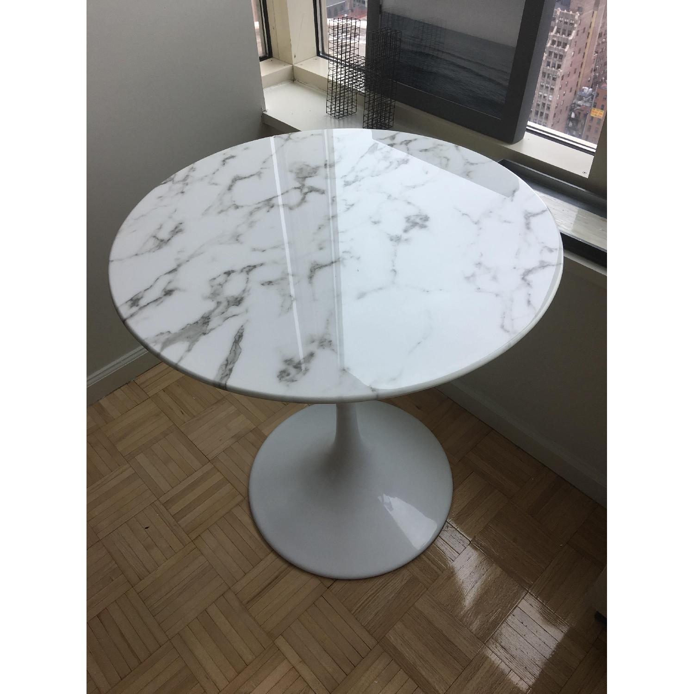 Eero Saarinen Style Tulip Dining Table - image-1