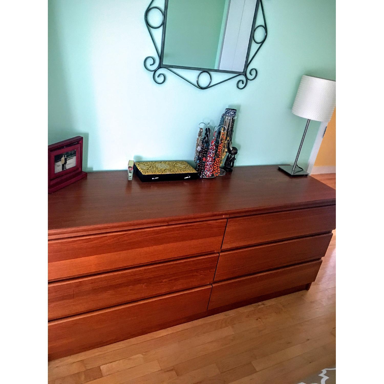 Teak 6-Drawer Dresser - image-3