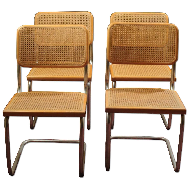 Knoll Vintage Marcel Breuer Cesca Chairs - image-0