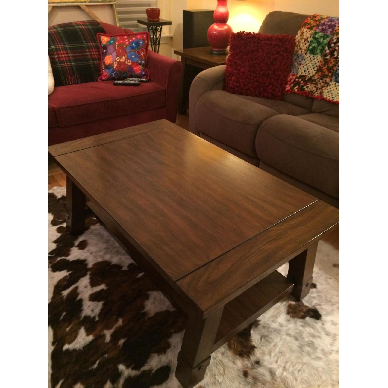 Raymour & Flanigan Windridge Coffee Table - image-1