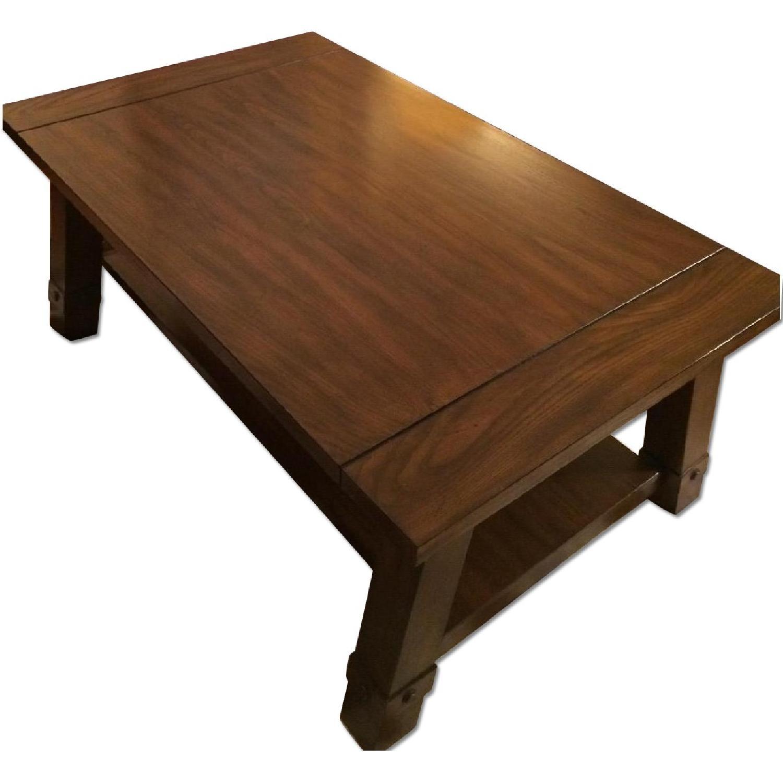 Raymour & Flanigan Windridge Coffee Table - image-0