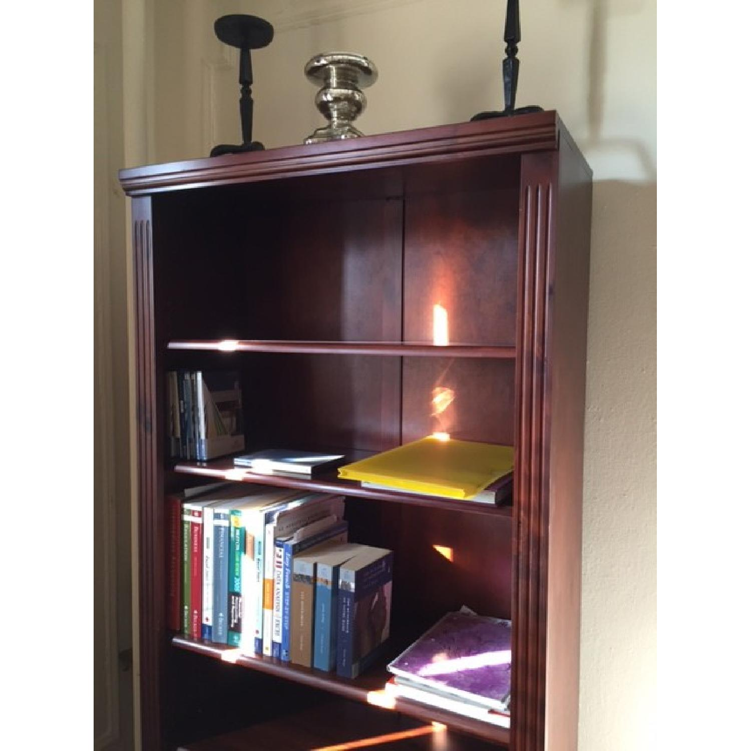 Brown Wood Book Shelf - image-1