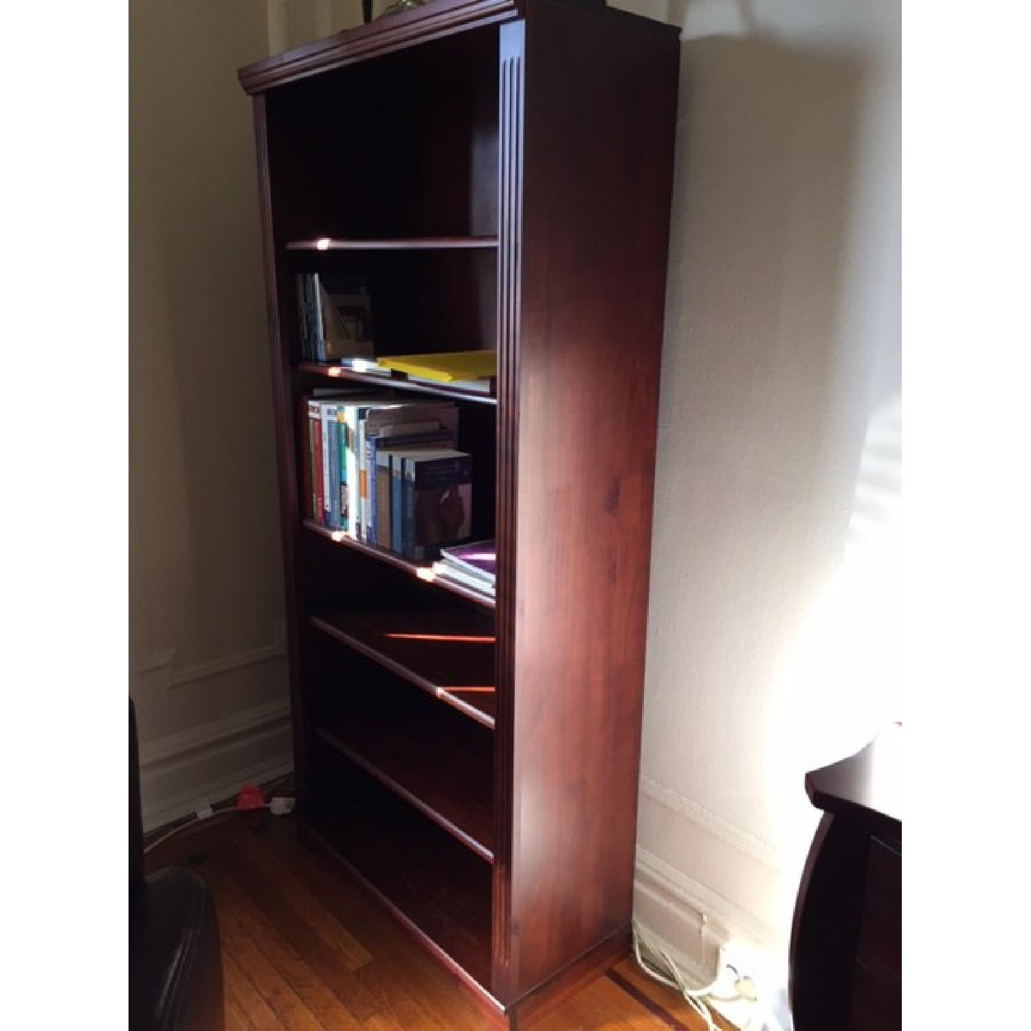 Brown Wood Book Shelf - image-2