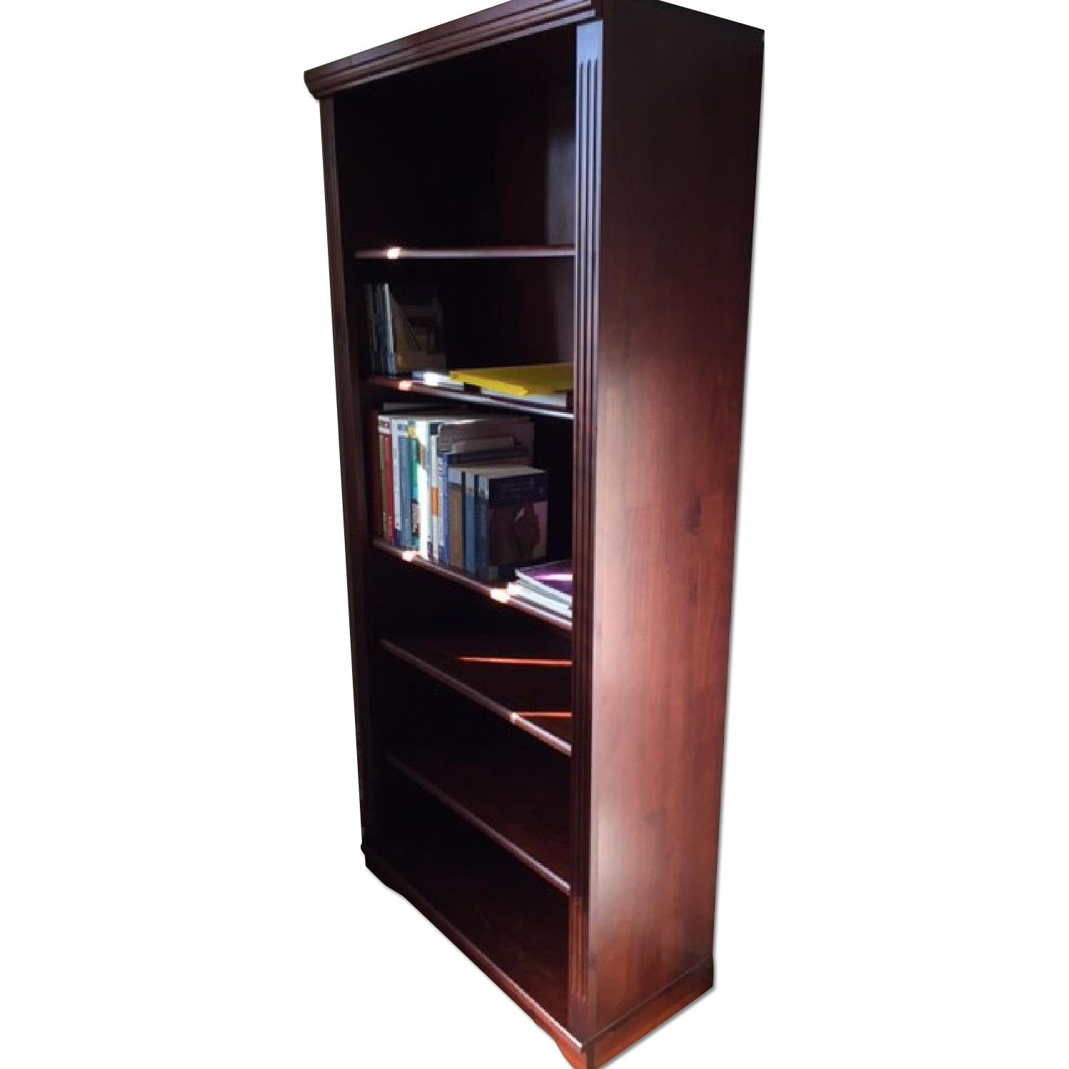 Brown Wood Book Shelf - image-0