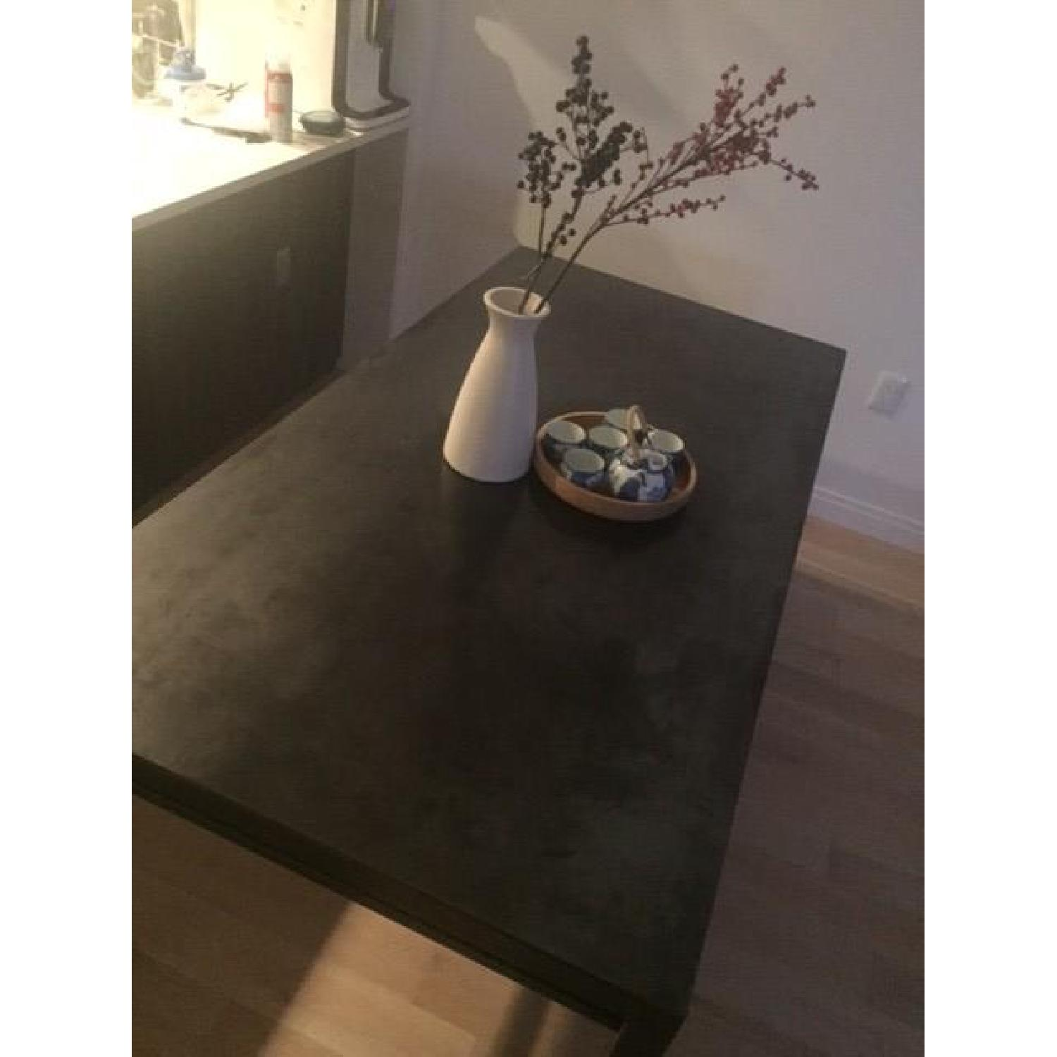 Canvas Home Metal Dining Table - image-4