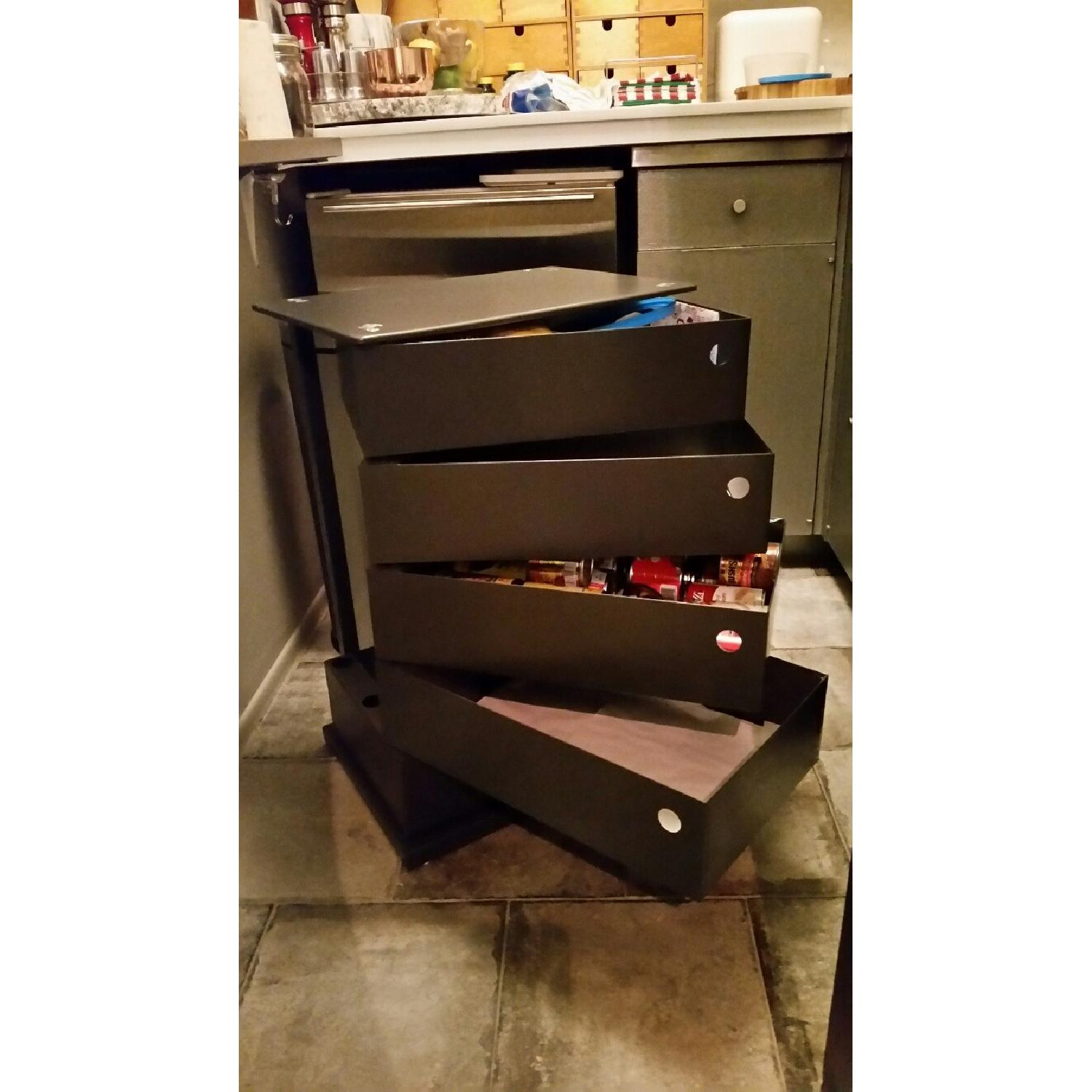Container Store 5 Drawer Storage Tower - image-3