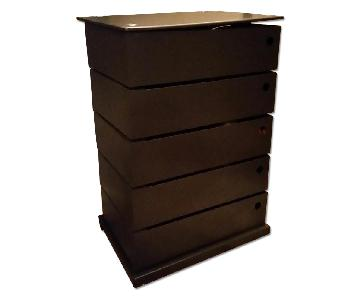 Container Store 5 Drawer Storage Tower