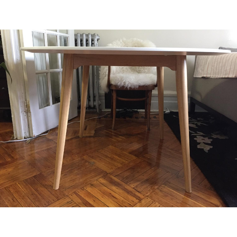 Ikea Trendig Oak & Laminate Round Table - image-1