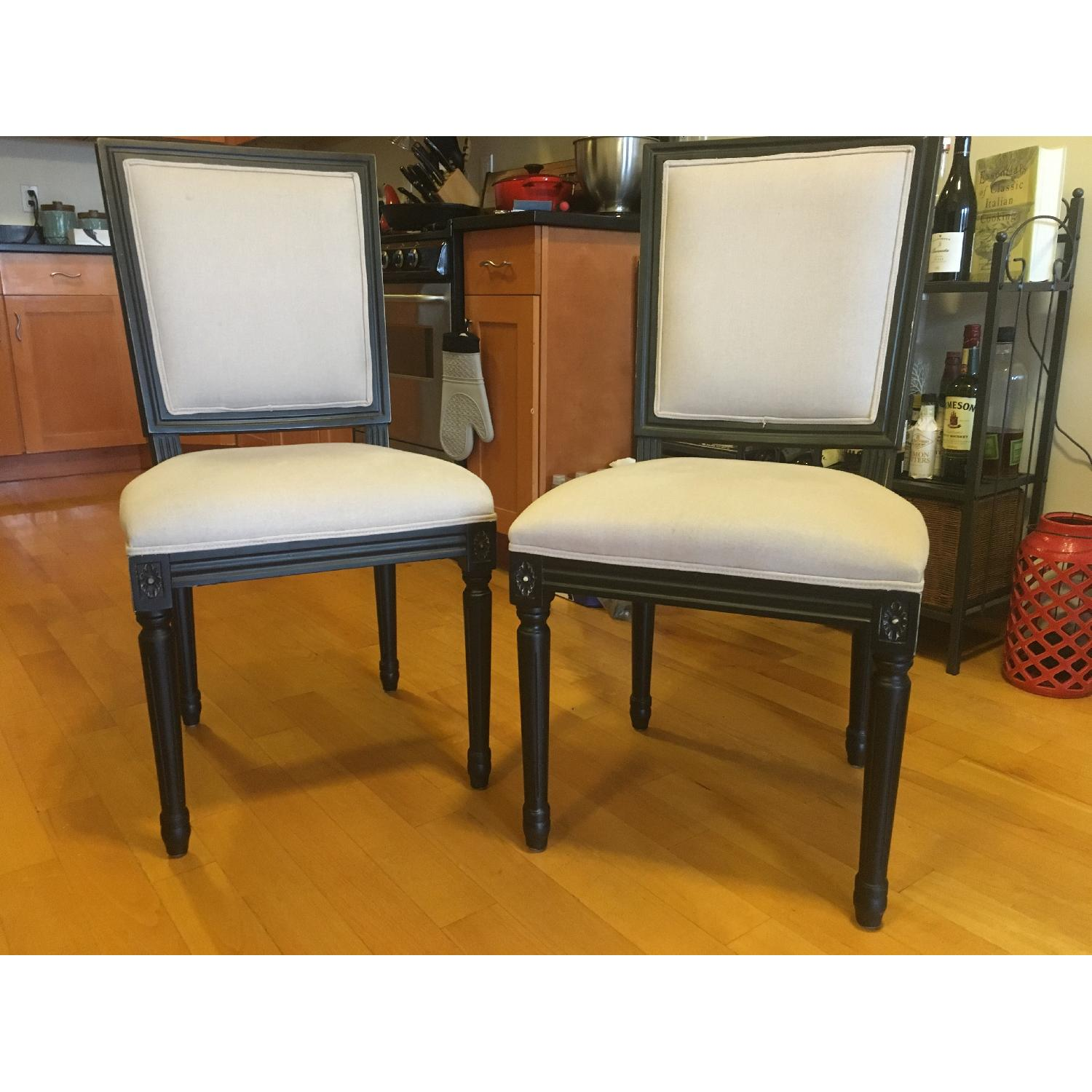 Safavieh Dining Chairs in Black & Gray - image-6