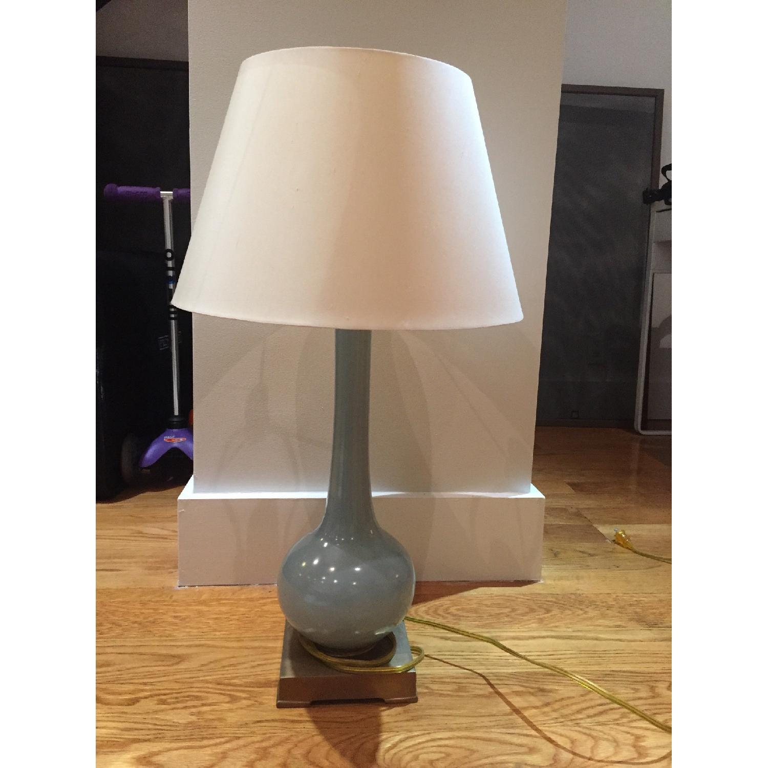 Currey & Company Blue Table Lamp - image-2