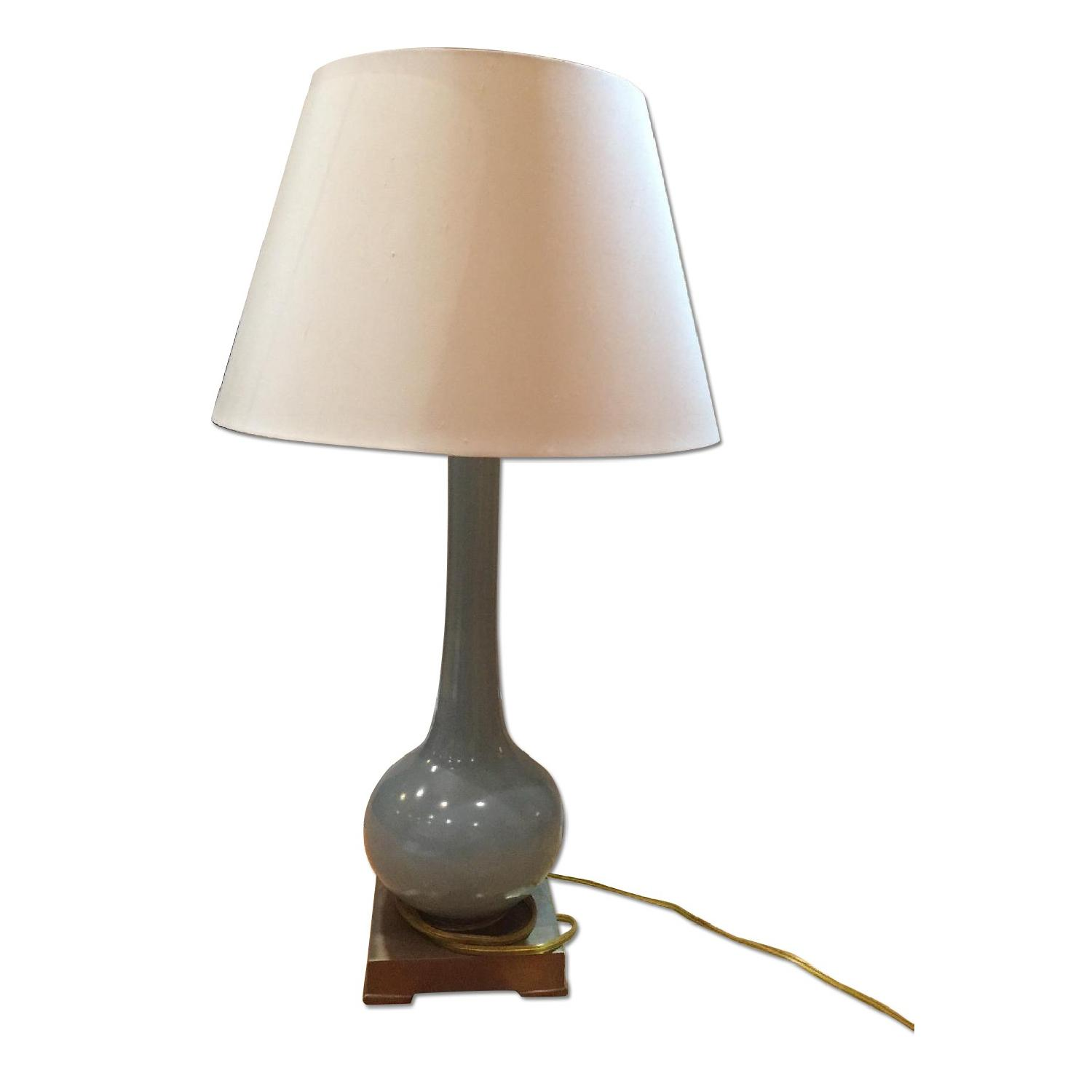 Currey & Company Blue Table Lamp - image-0