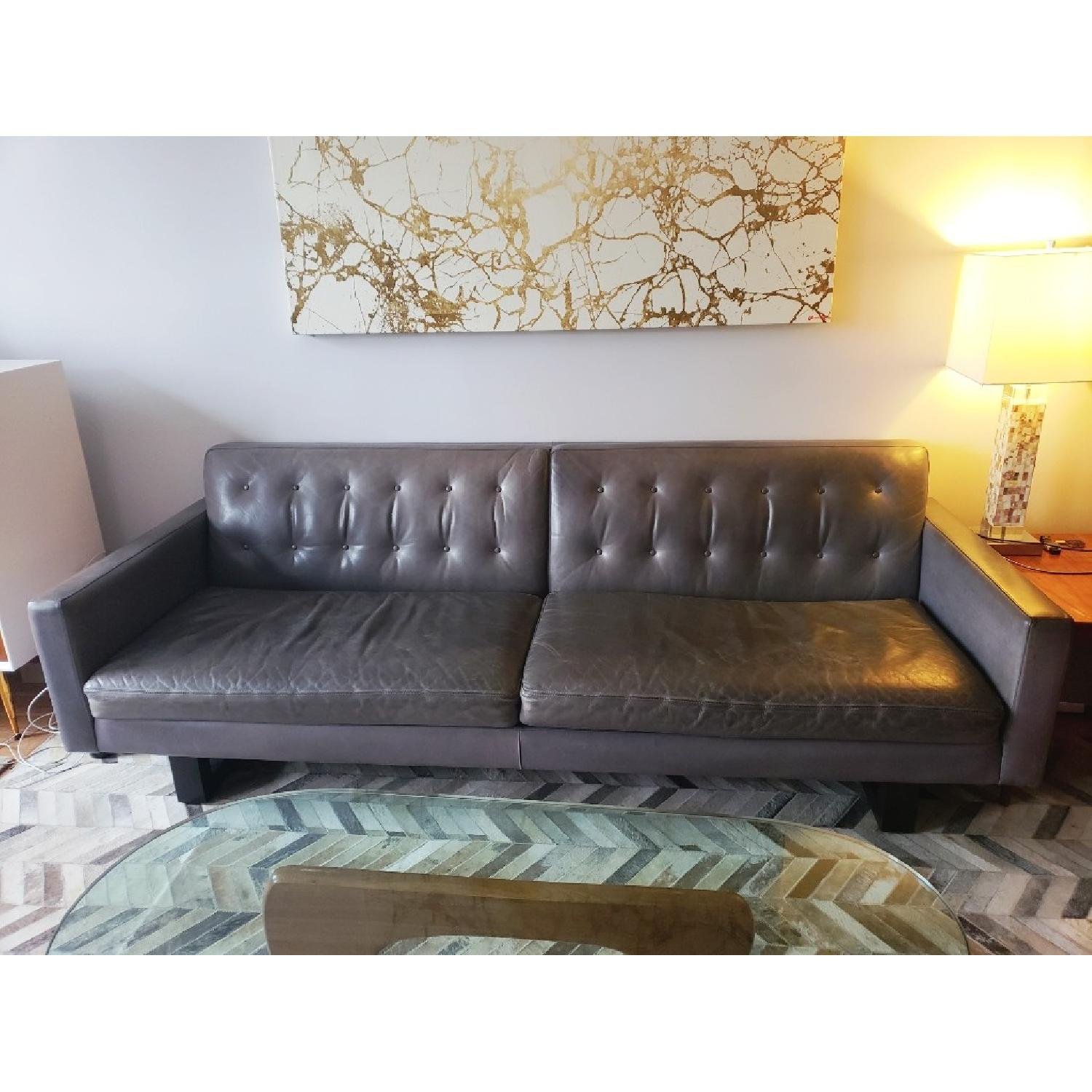 Room & Board Wells Leather Sofa-0