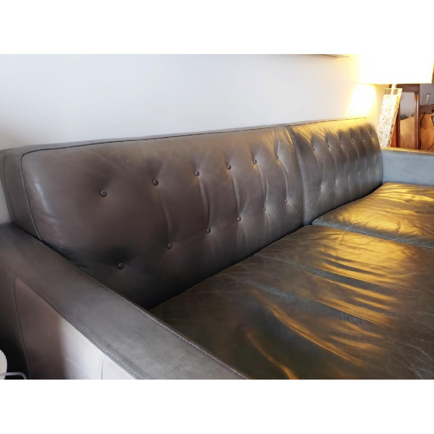 Room & Board Wells Leather Sofa-2