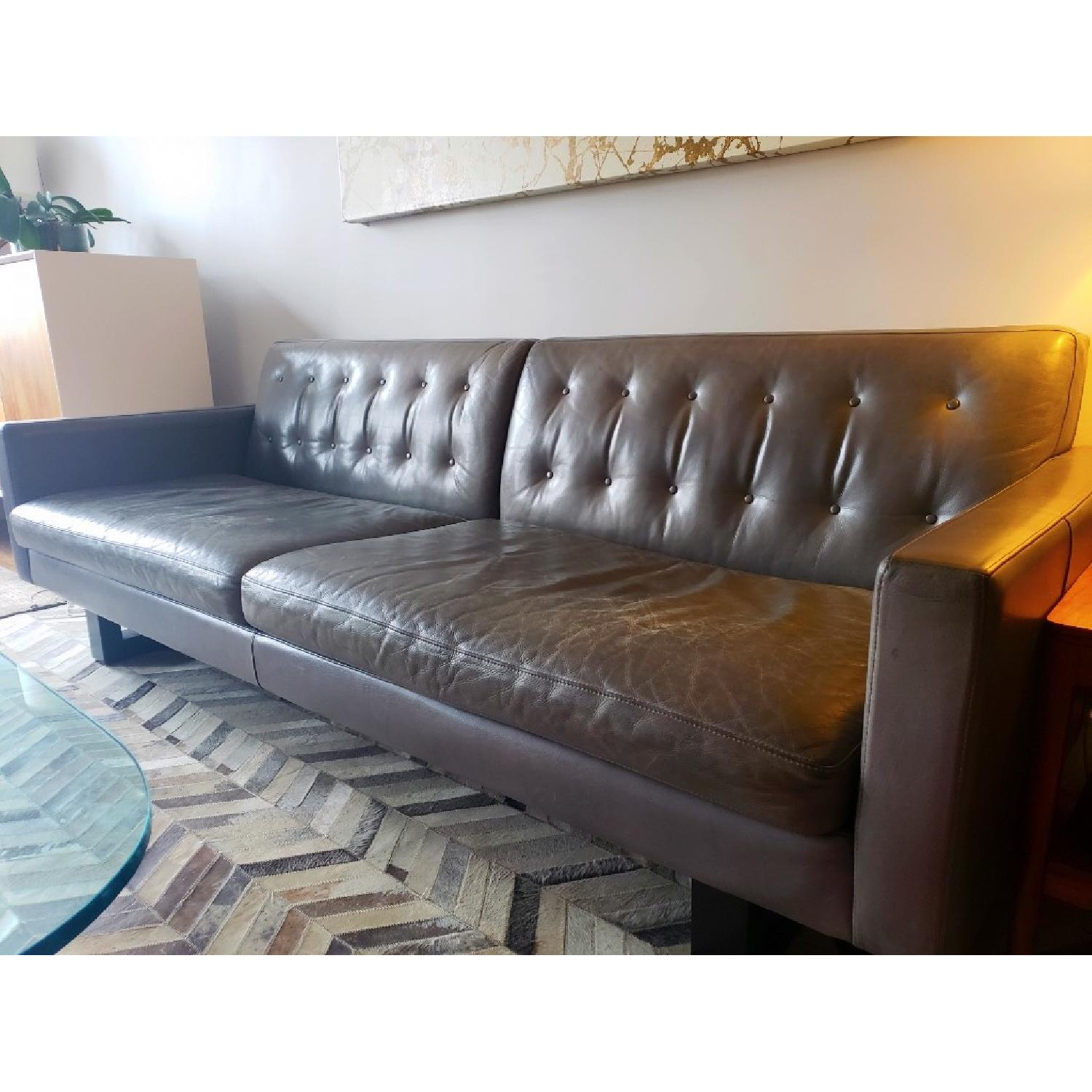 Room & Board Wells Leather Sofa-3
