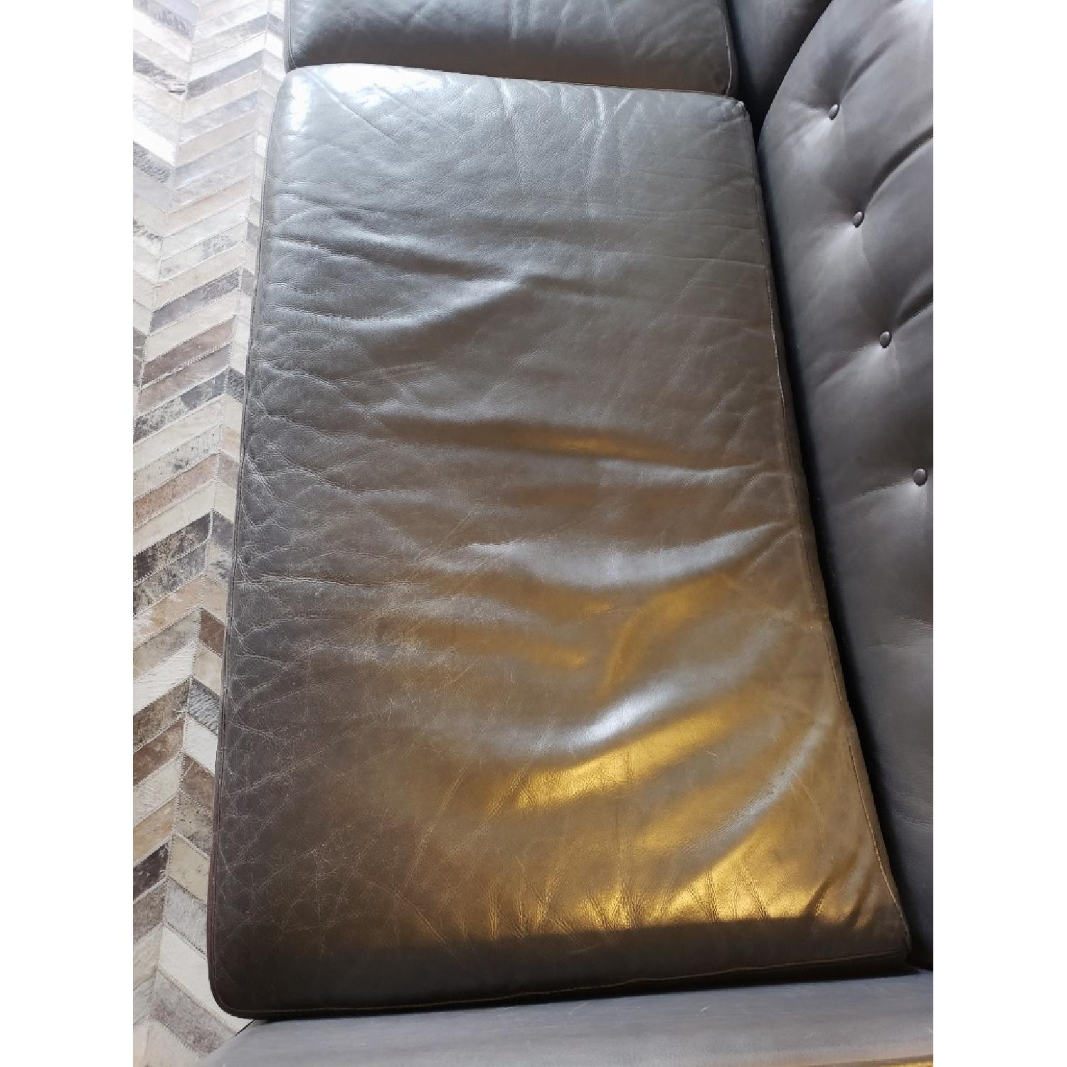 Room & Board Wells Leather Sofa-4