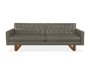 Room & Board Wells Leather Sofa