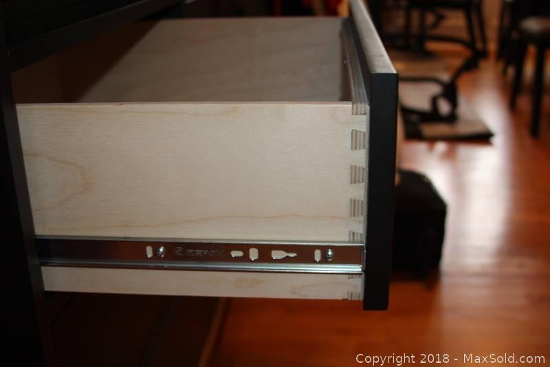 Room & Board Linear Large Bar Cabinet