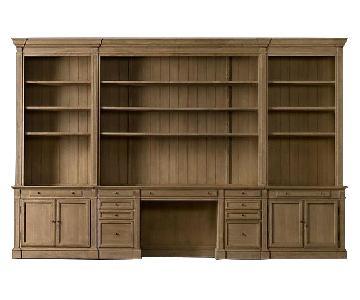 Restoration Hardware 6 Piece Library Wall Unit