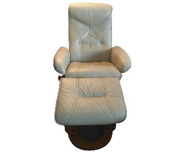 Benchmaster Recliner Chair & Ottoman