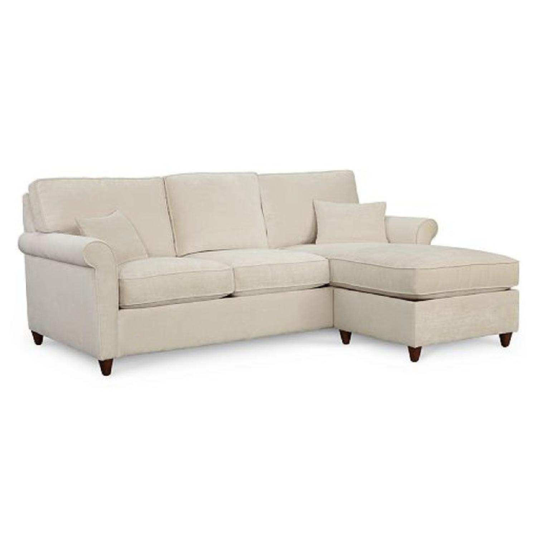 Macyu0027s Lidia Fabric 2 Piece Reversible Chaise Sectional Sofa ...
