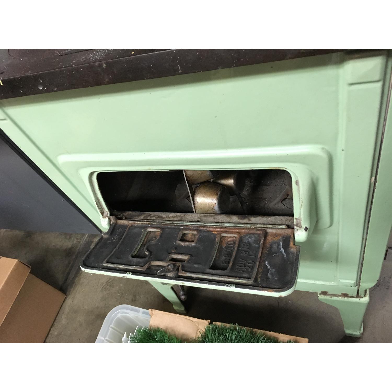 Antique Sea Green Oven Porcelain Sideboard-4