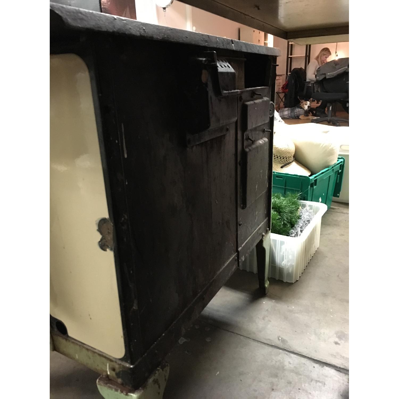 Antique Sea Green Oven Porcelain Sideboard-6