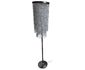 Restoration Hardware Crystal Floor Lamp