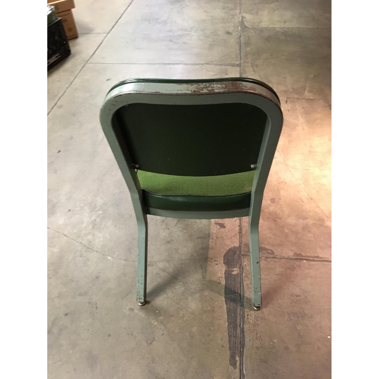Vintage Harter Industrial Green Side Desk Chair-4