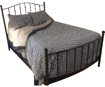 Pottery Barn Wrought Iron Full Size Bed Frame