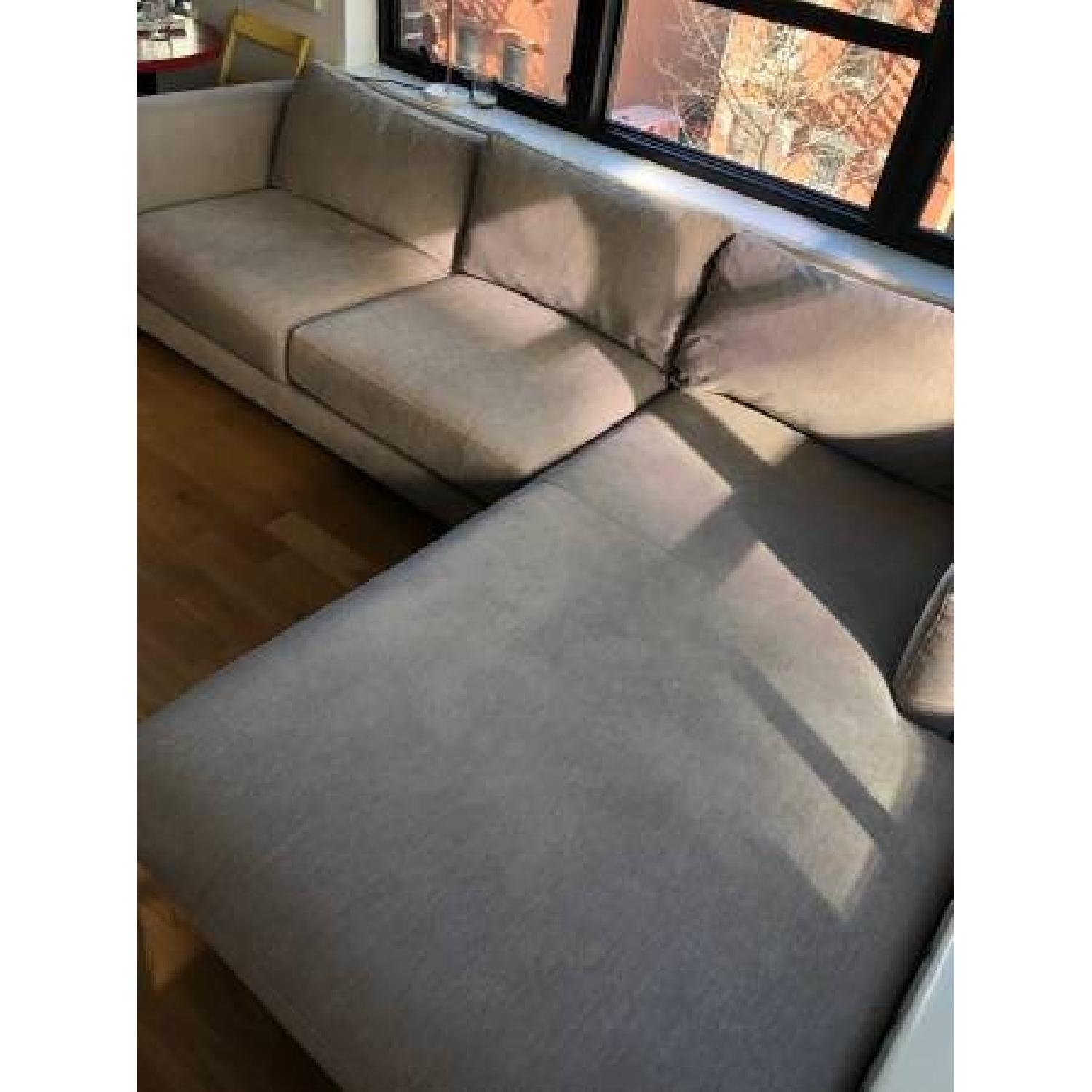 Room & Board Holden Custom Sectional Sofa w/ Right Chaise-2
