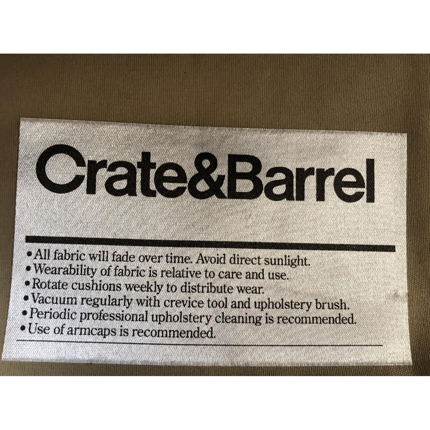 Crate & Barrel Chaise Lounge-4