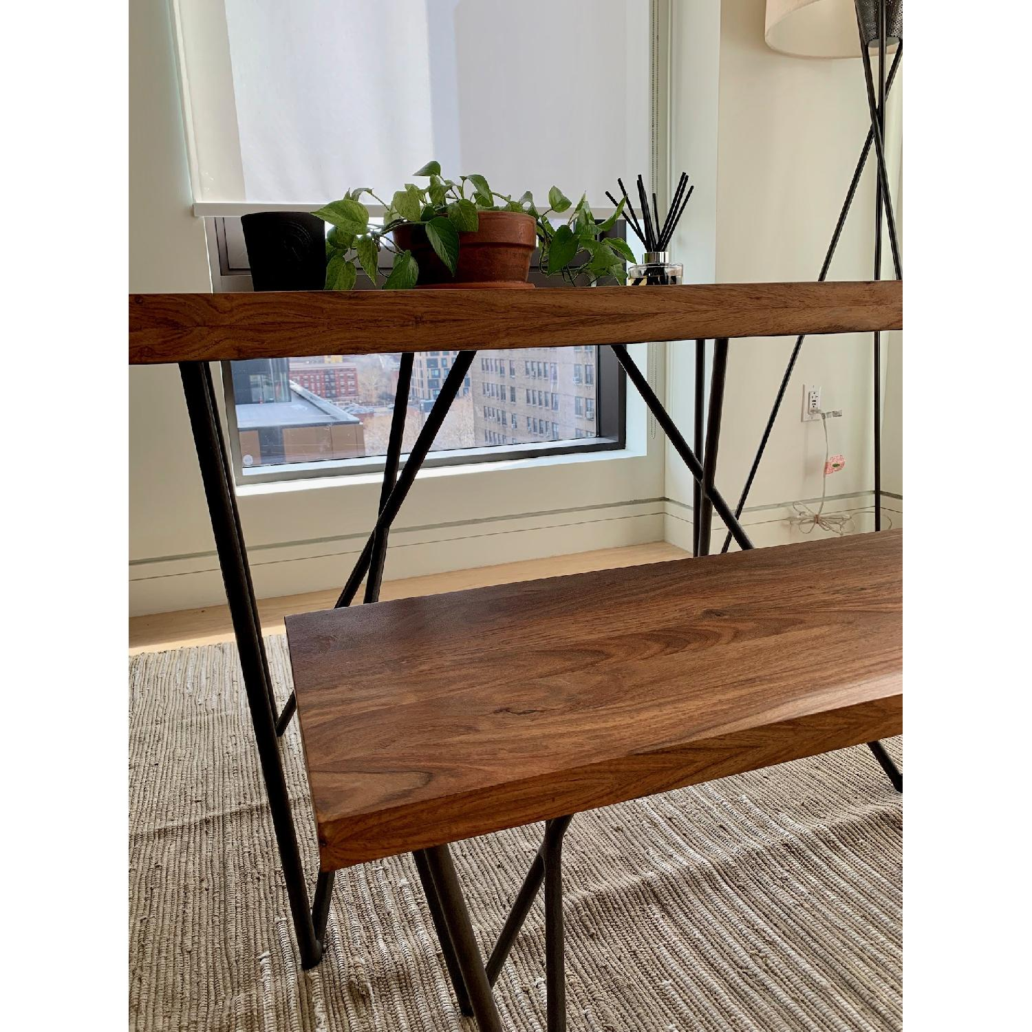 Enjoyable Cb2 Dylan Dining Table W 1 Bench Aptdeco Caraccident5 Cool Chair Designs And Ideas Caraccident5Info