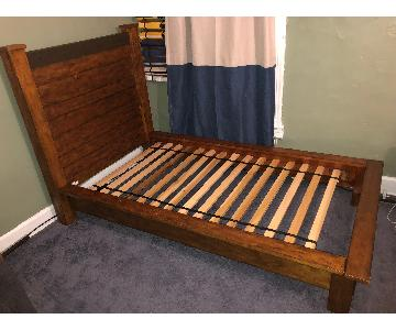 Pottery Barn Teen Emerson Twin Size Wood Bed