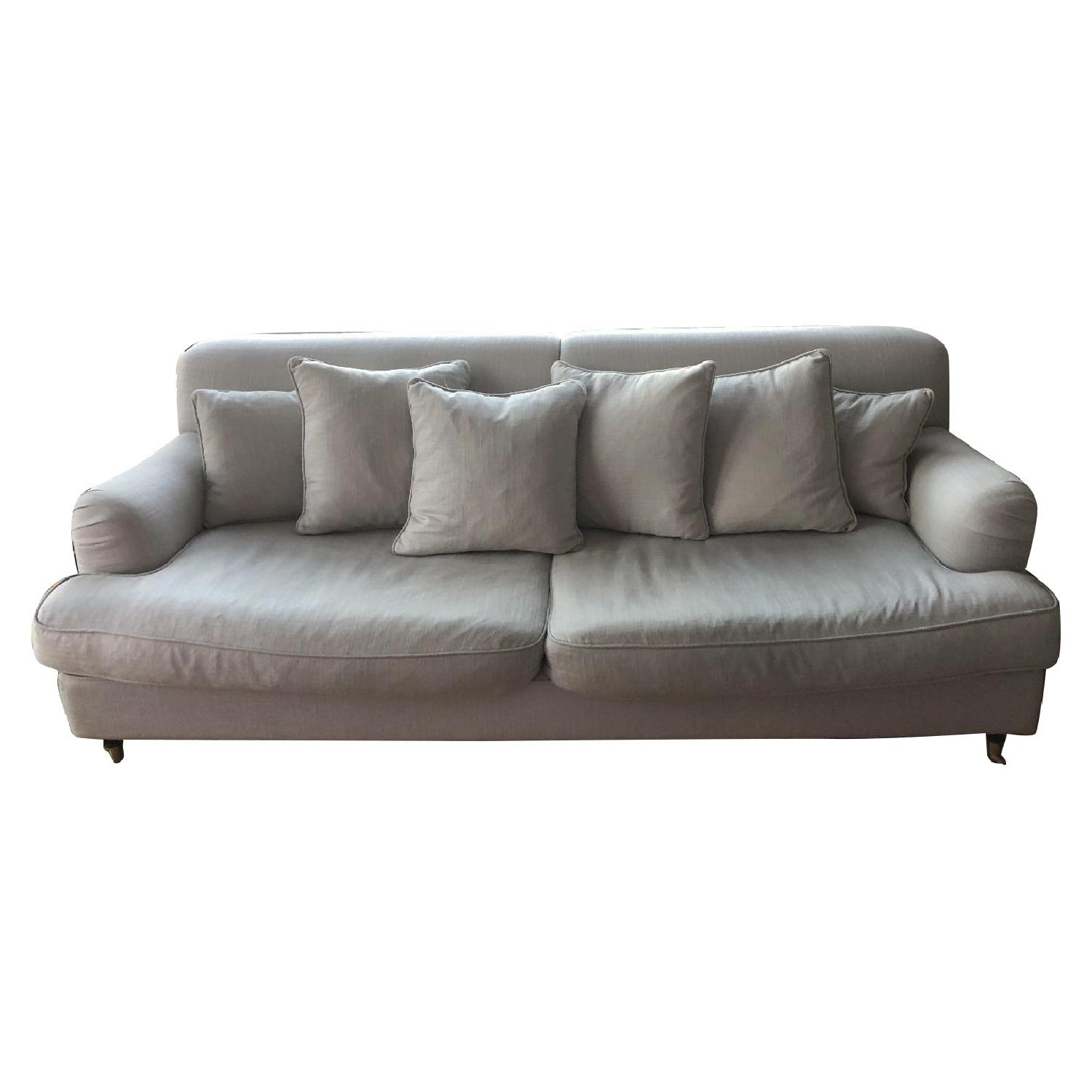 Abc Carpet And Home Upholstered Sofa Aptdeco