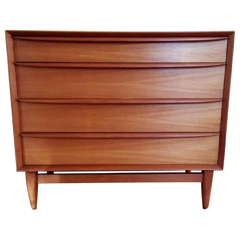Falster Mbelfabrik Mid-Century Modern 4 Drawer Dresser