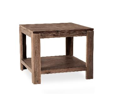 Macys Champagne End/Side Table