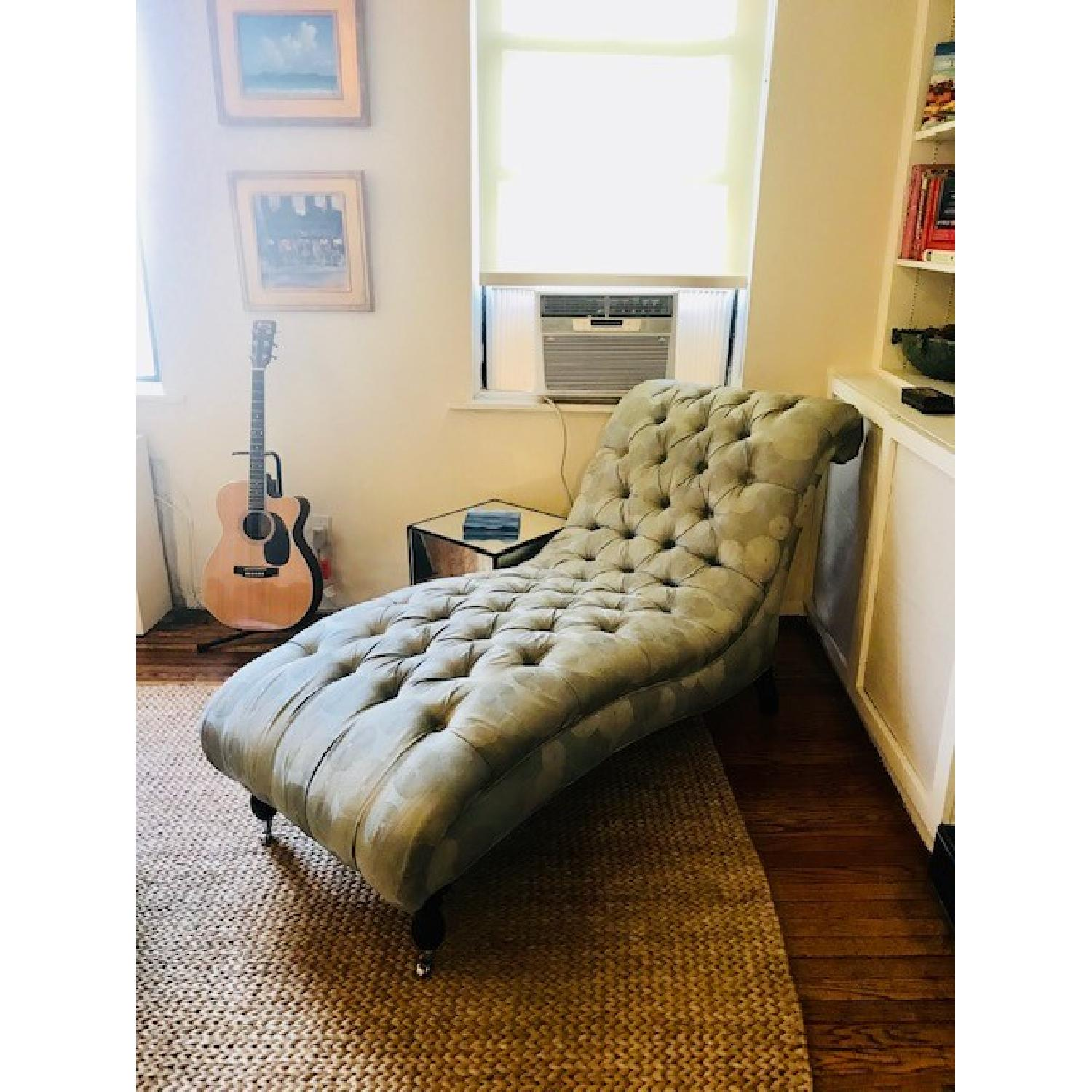 Mitchell Gold + Bob Williams Tufted Chaise Lounge-0