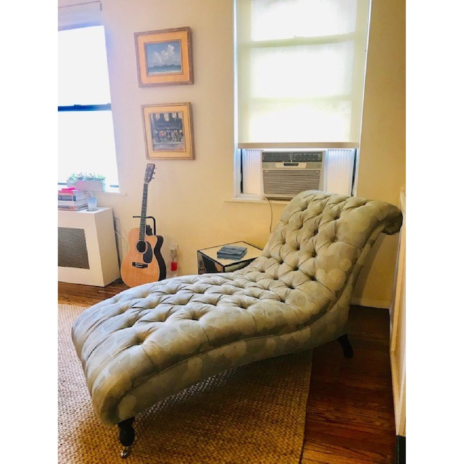 Mitchell Gold + Bob Williams Tufted Chaise Lounge-2