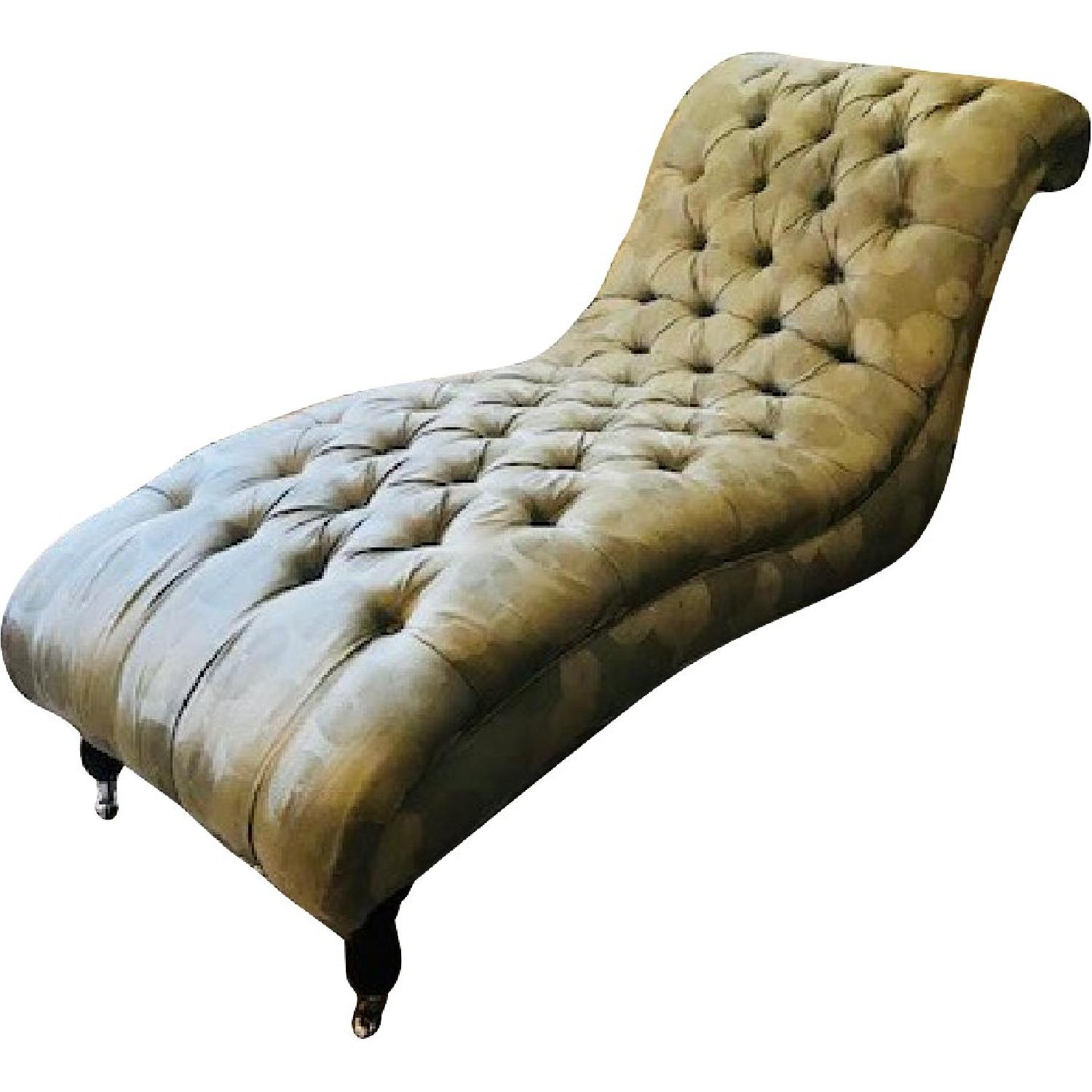 Mitchell Gold + Bob Williams Tufted Chaise Lounge