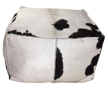 Mitchell Gold + Bob Williams Cowhide Ottoman