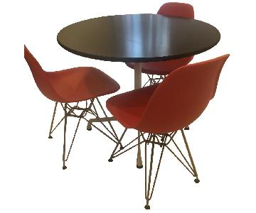 Herman Miller Eames Dining Table w/ 3 Chairs