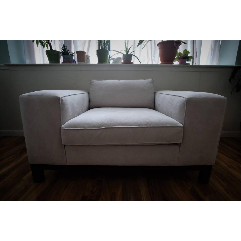 Mitchell Gold + Bob Williams Oversized Lounge Chair-1