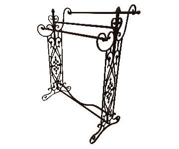 Metal Quilt Rack